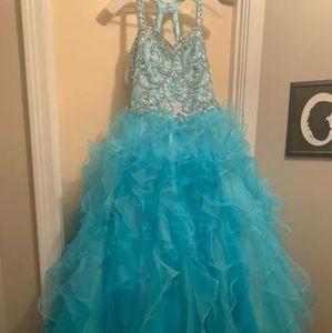Tiffany designs style 13454 pageant dress sz 14
